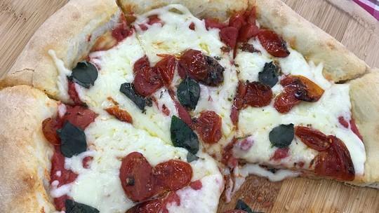Pizza de Fermentação Rápida