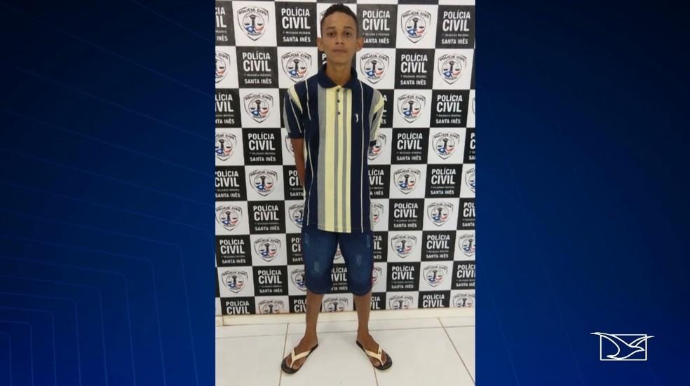 Raimundo Nonato Menezes foi preso na noite de quarta-feira (1º) no município Igarapé do Meio — Foto: Reprodução/ TV Mirante