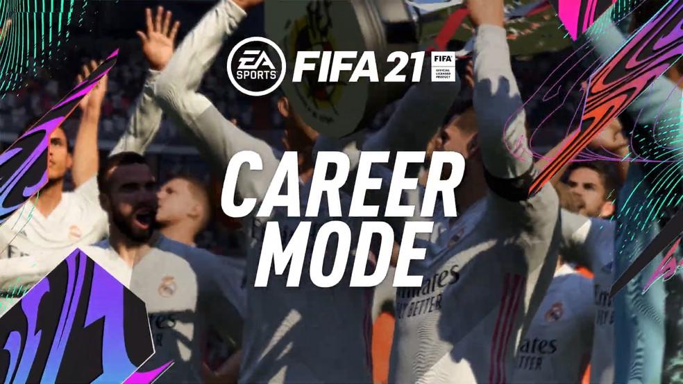 Modo Carreira do FIFA 21 terá novas experiências na gestão de treinamentos e mais novidades — Foto: Reprodução/ EA Sports