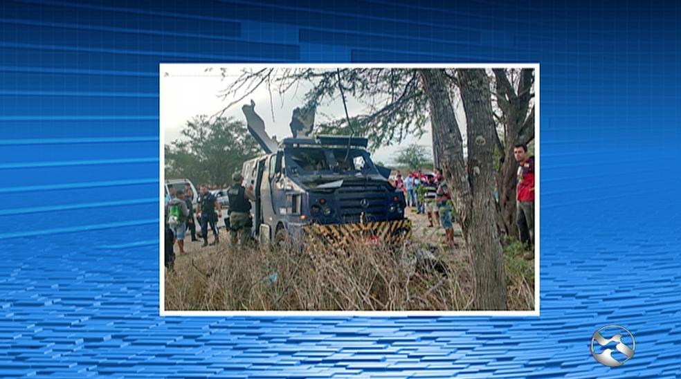 Crime foi registrado na segunda-feira (18) (Foto: Reprodução/TV Asa Branca)