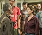 Cena da nova temporada de 'Segunda chamada' | Fábio Rocha/Globo