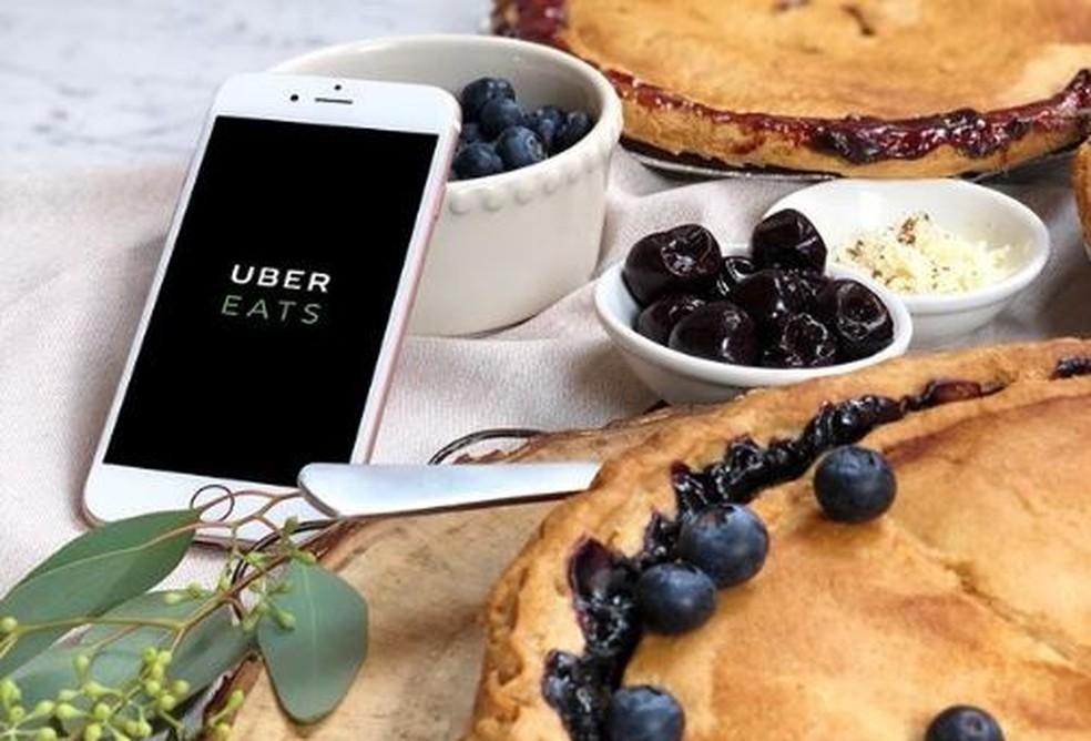 Uber Eats — Foto: Divulgação/ Uber