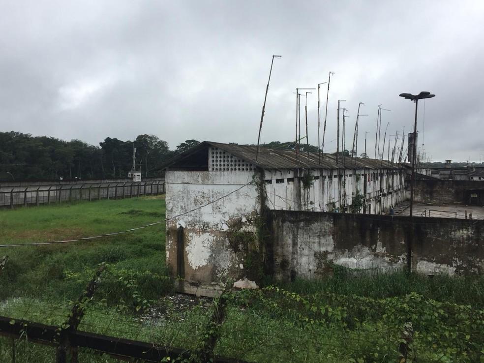 Centro de Recuperação Penitenciário Pará I (CRPP I), no Complexo de Santa Izabel do Pará. — Foto: Divulgação / Susipe