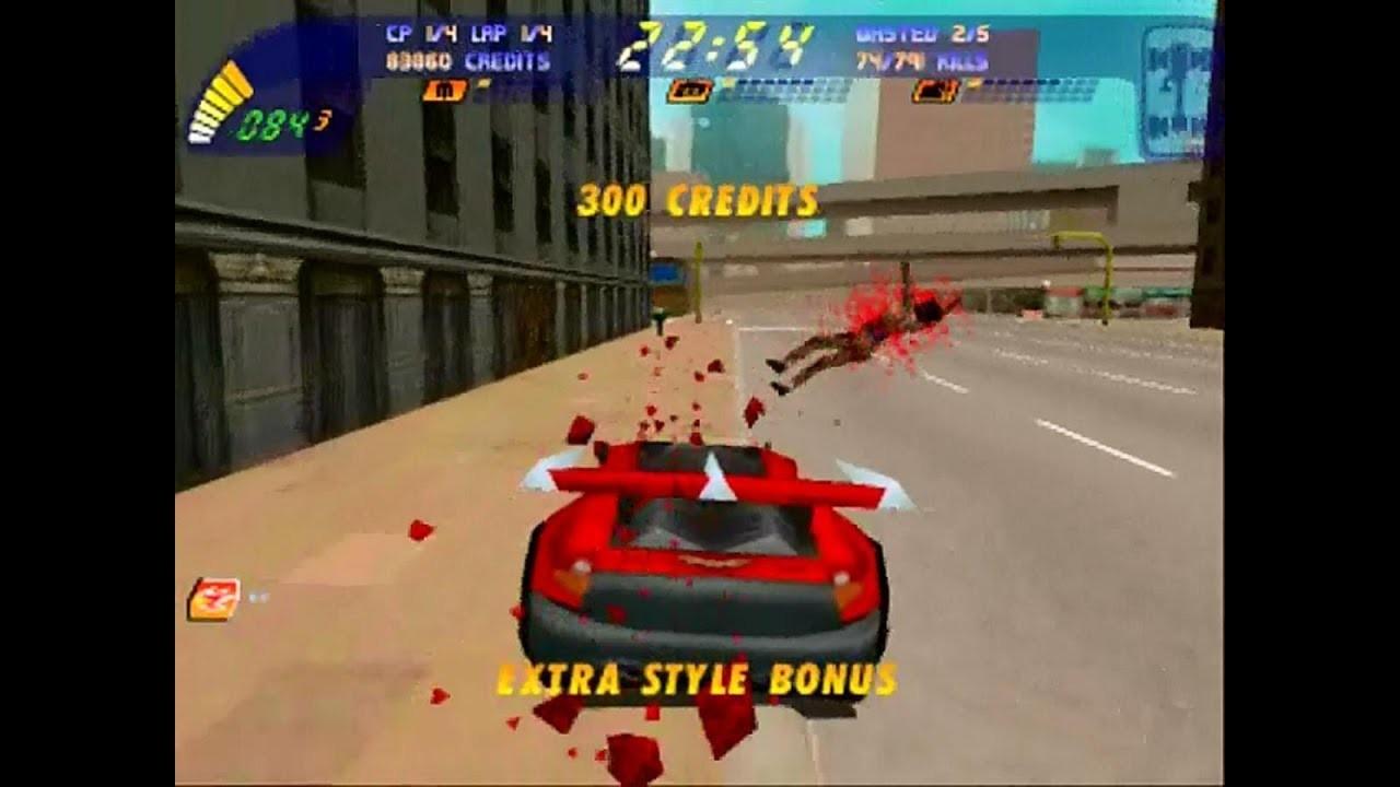 O jogo 'Carmageddon', que chegou a ser proibido no Brasil (Foto: Divulgação)