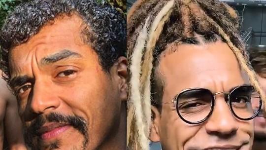 Marcello Melo Jr. muda o visual e adere ao cabelo com dreads; veja antes e depois