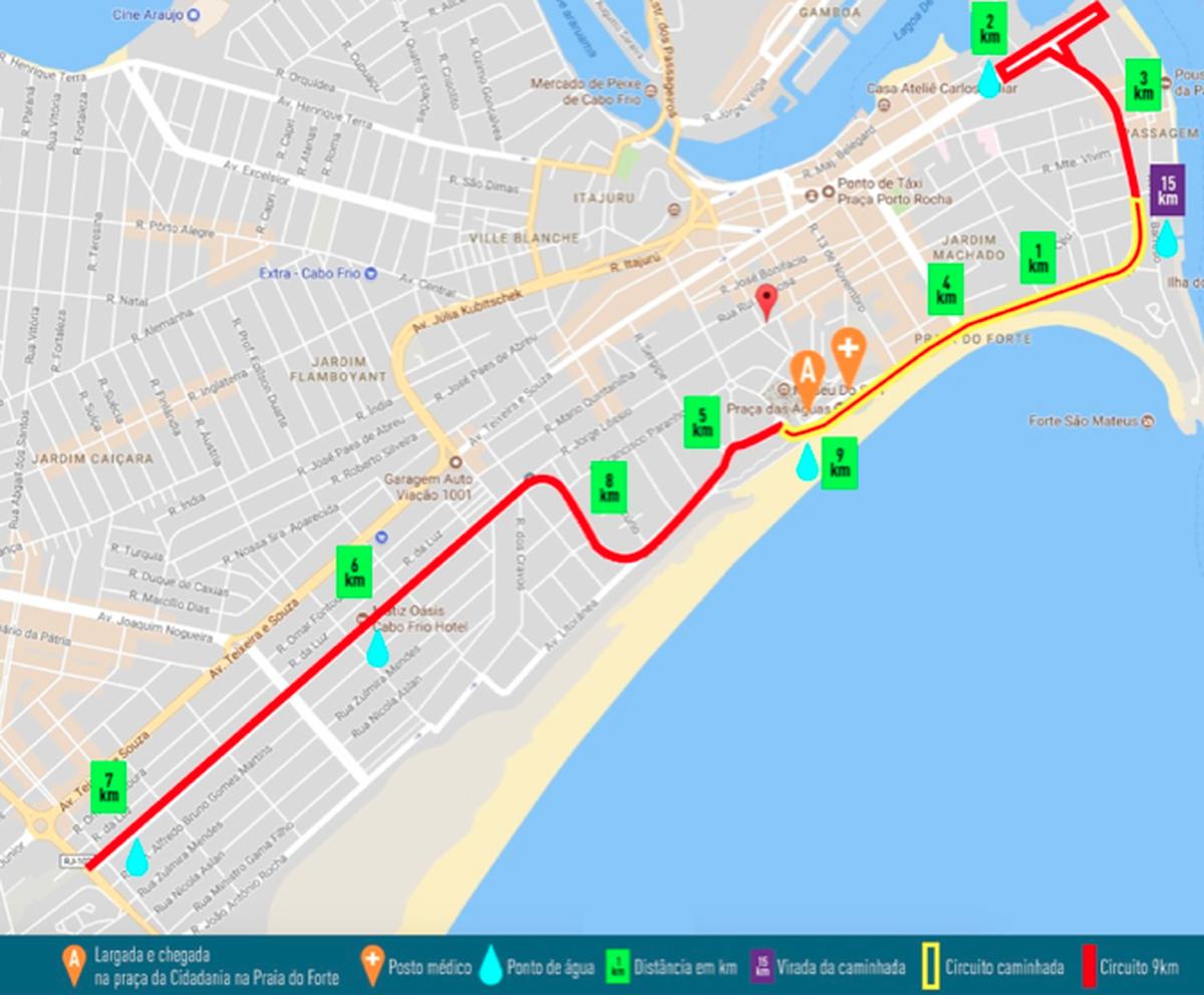 'Corrida e Caminhada UFF' tem inscrições abertas em Cabo Frio, no RJ