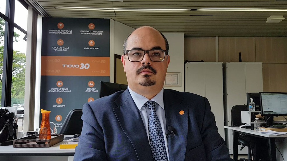 Mateus Simões (Novo) — Foto: Flávia Cristini/G1