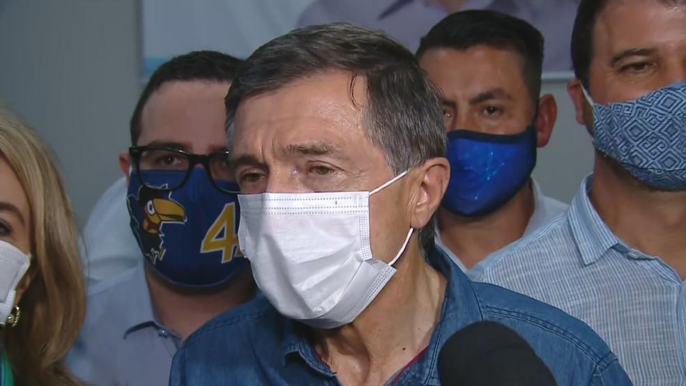 Adiló, do PSDB, foi eleito prefeito de Caxias do Sul — Foto: Reprodução/RBS TV