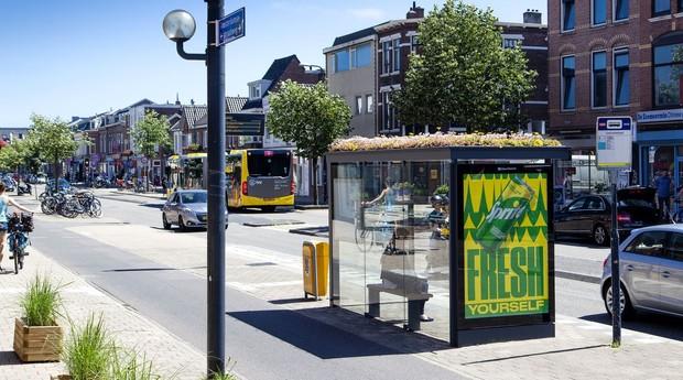 Mobilane uma empresa holandesa, que atua com soluções sustentáveis (Foto: Barbra Verbij Clear Channel)