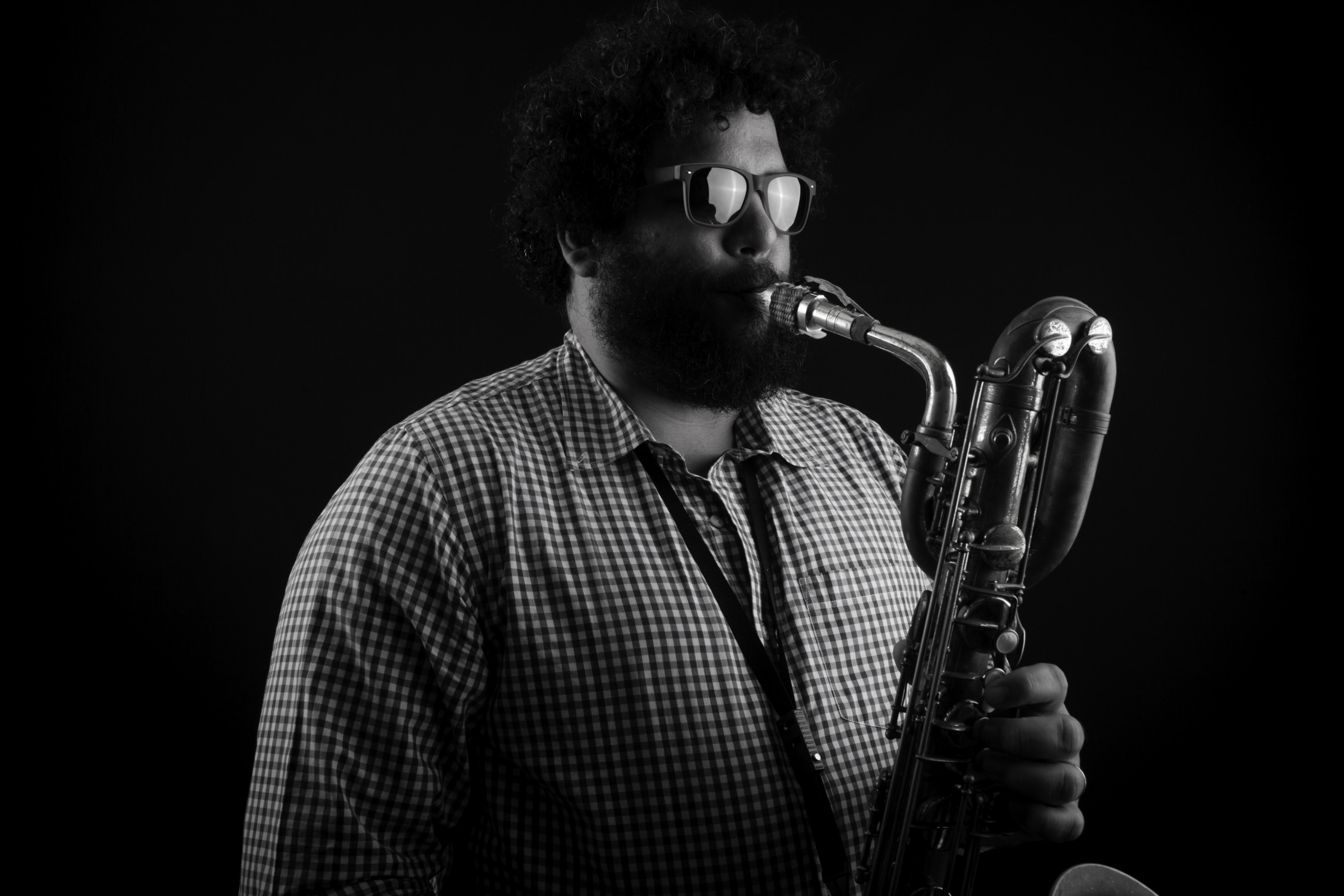 O saxofonista Esdras Nogueira