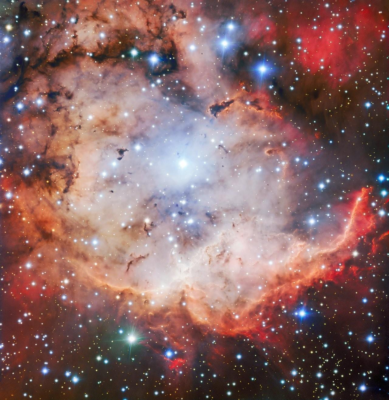 Foto tirada por telescópio da ESO (Foto: ESO)