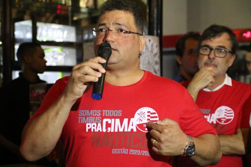 Edno Melo Náutico será aclamado presidente do Náutico — Foto: Marlon Costa / Pernambuco Press