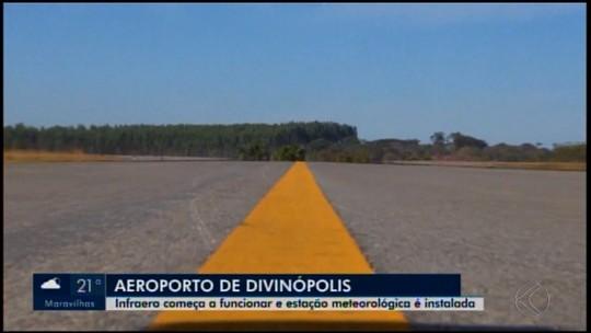 Funcionários da Infraero começam a trabalhar no Aeroporto de Divinópolis