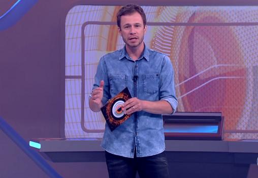 Tiago Leifert no 'Big Brother Brasil' (Foto: Reprodução)
