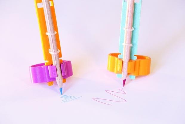 Designers criam bicicleta e acessório de escrita para crianças com deficiência (Foto: Reprodução)