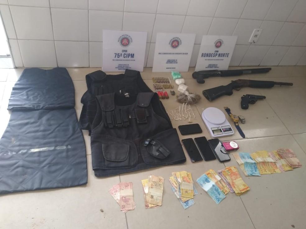 Operação Rondesp e 75ªCIPM — Foto: Foto: Assessoria de Comunicação Social da 75ª CIPM/ Divulgação
