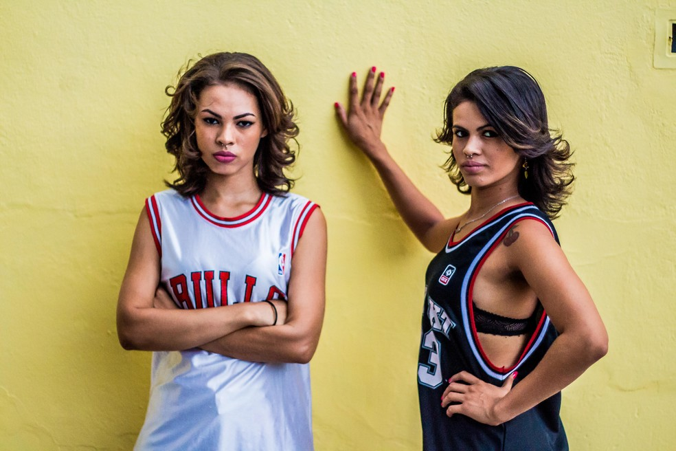 Dupla de rap Lary Go & Strela participam do show 'Personalidades Negras' (Foto: Divulgação/Coletivo Difusão)