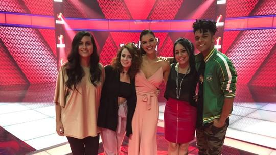 Finalistas do 'The Voice Brasil' falam sobre a expectativa para o grande dia