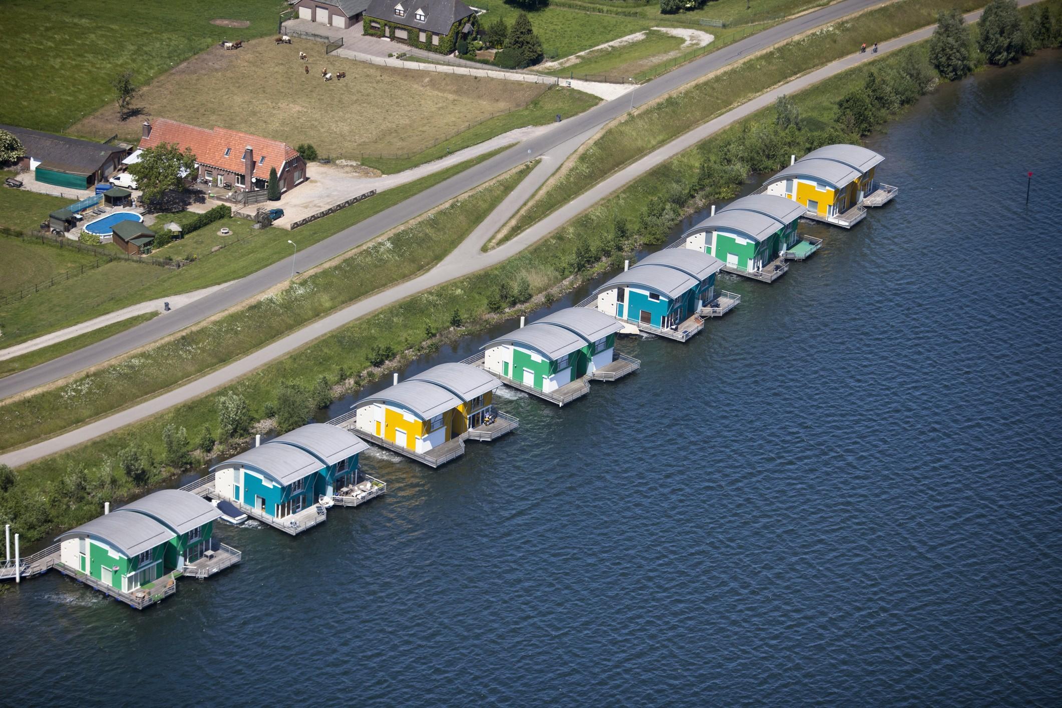 Arquitetura flutuante: por que as construções não afundam