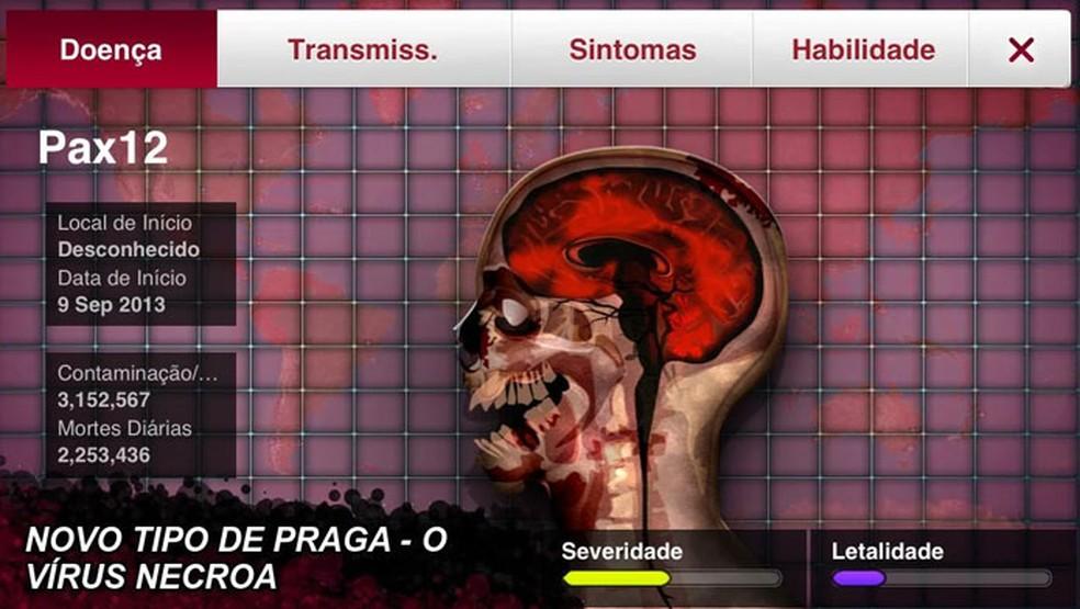 Plague Inc. está com aumento de interesse — Foto: Divulgação/Google Play