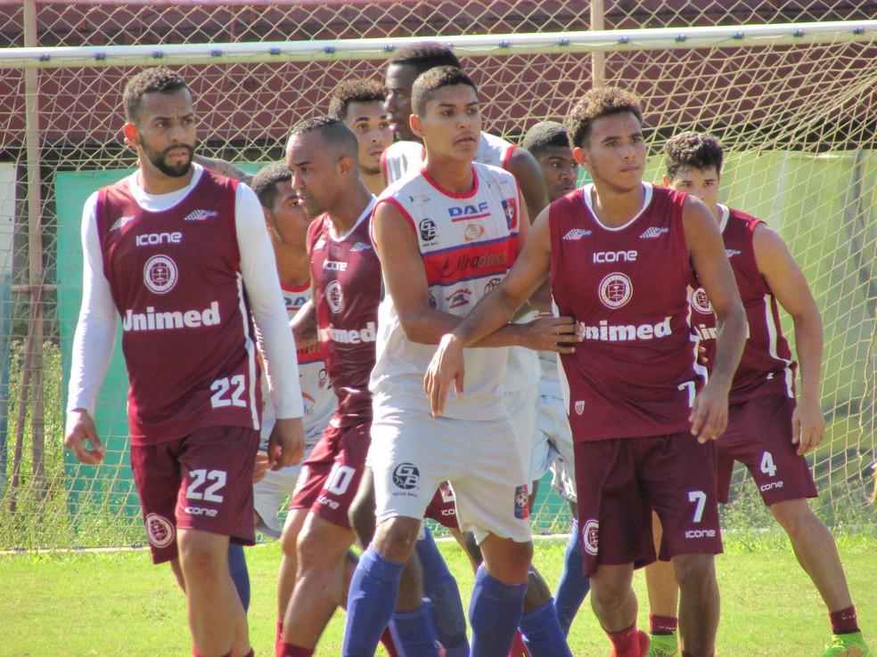 Jogo-treino entre Desportiva Ferroviária e Sport-ES (Foto: Divulgação/A Desportiva Ferroviária)