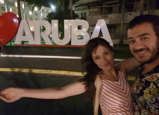 Rosanne Mulholland e Marcos Veras (Foto: Reprodução/Instagram)