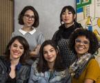 Daphne Bozaski, Manoela Aliperti, Gabriela Medvedovski, Ana Hikari e Heslaine Vieira, de 'As Five' | Divulagação