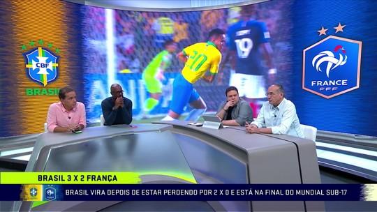 """Lédio exalta virada histórica do Brasil no Mundial Sub-17: """"Foi na marra. A França é mais time"""""""