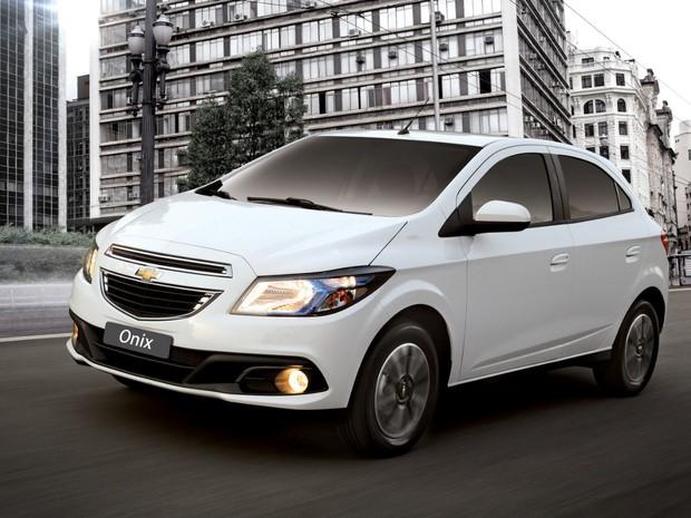Chevrolet Onix (Foto: Divulgação)