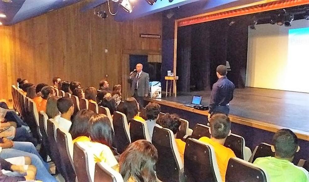 Aulão para estudantes em Arcoverde — Foto: Assessoria/Divulgação