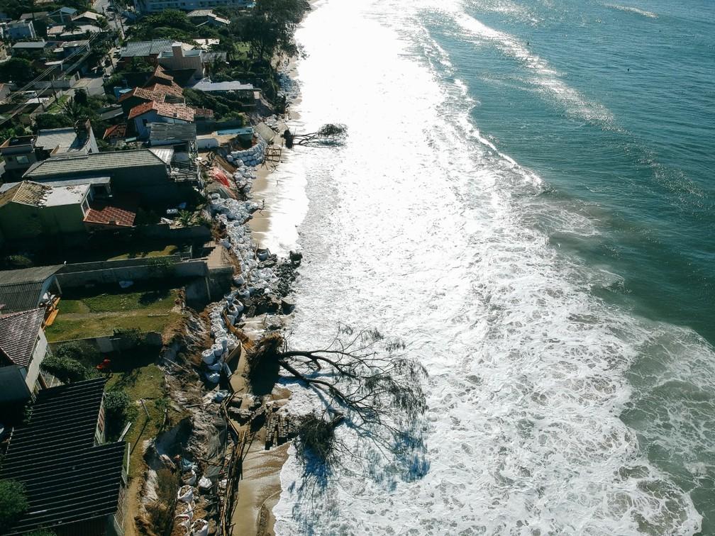 Morro das Pedras em Florianópolis (SC) — Foto: Diogenes Pandini/NSC