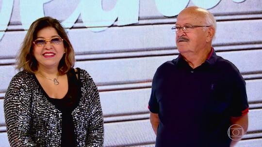 'Caldeirão ao Cubo': veja o reencontro de Roberta Miranda e Seu João, ex-participante do 'Lata Velha'