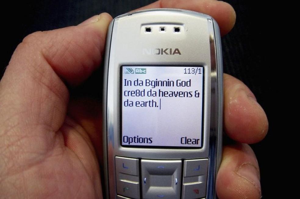 A primeira mensagem de texto foi enviada em 3 de dezembro de 1992 — Foto: Getty Images