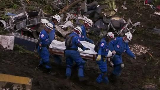 Vinte corpos de vítimas da queda de avião da Chapecoense já foram identificados
