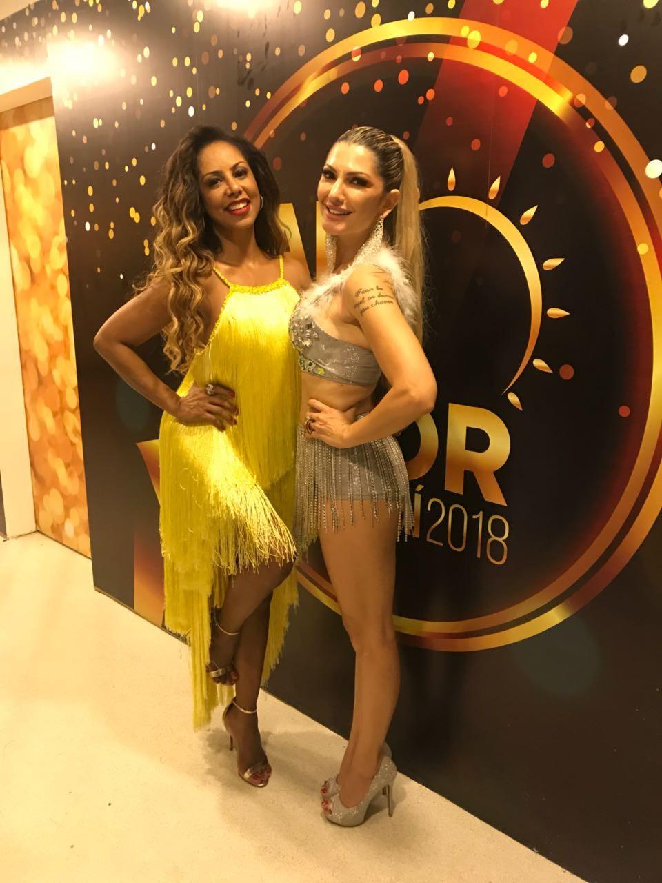 Valéria Valenssa e Antônia Fontenelle (Foto: AF Assessoria/ Divulgação)