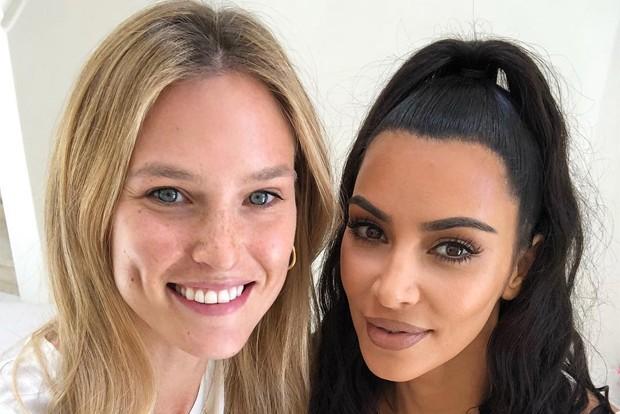 Bar Refaeli e Kim Kardashian (Foto: Reprodução / Instagram)