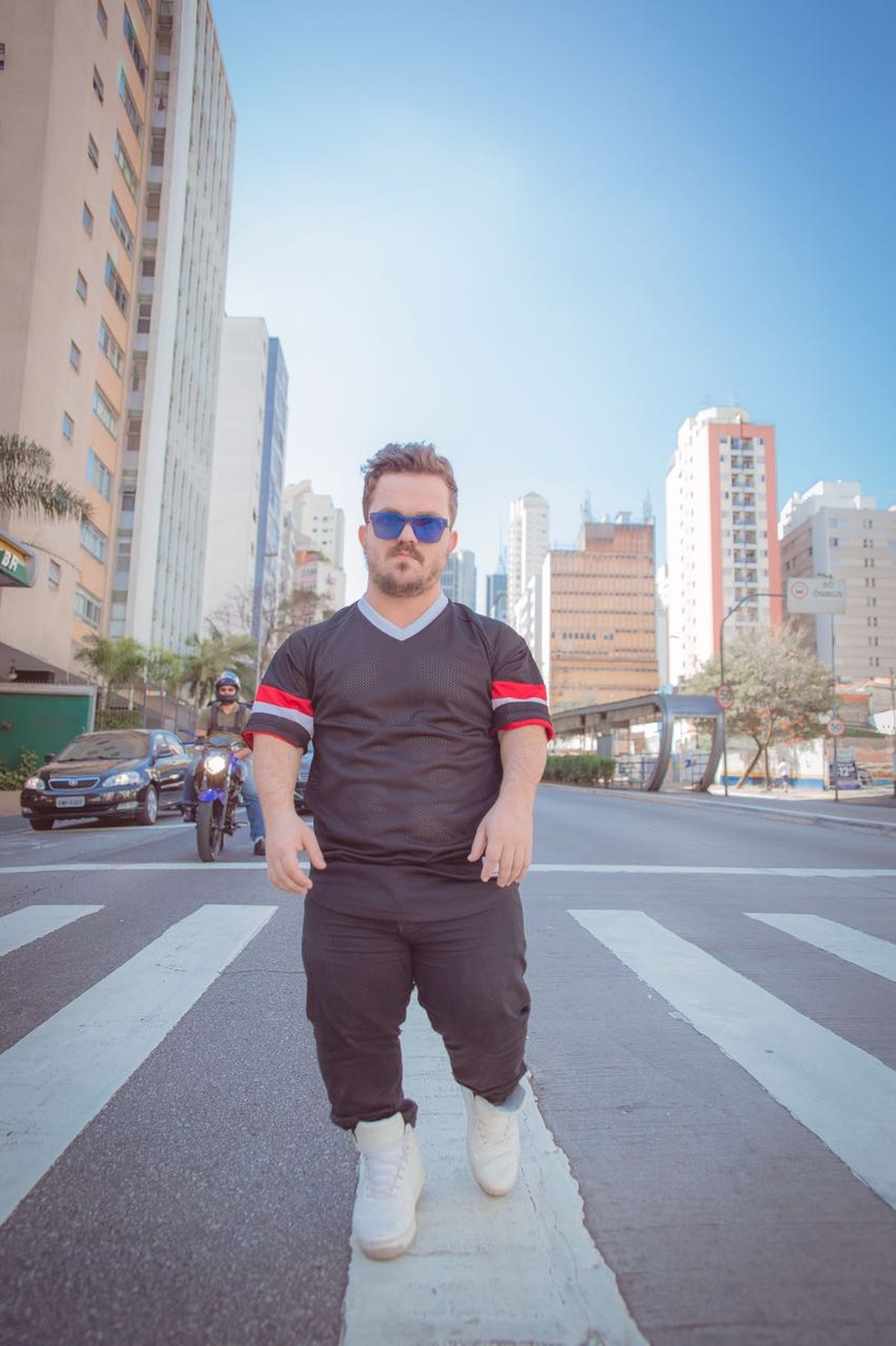 Mateus tem mais de 330 mil seguidores do Instagram (Foto: Mateus Baptistella / Arquivo pessoal )