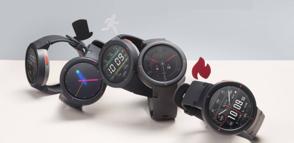 Amazfit Verge tem diversas funções de smartwatches famosos — Foto: Divulgação/Amazfit