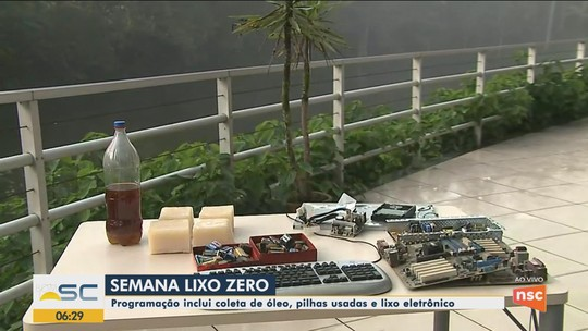 Semana Lixo Zero tem ações de educação ambiental em cidades de SC