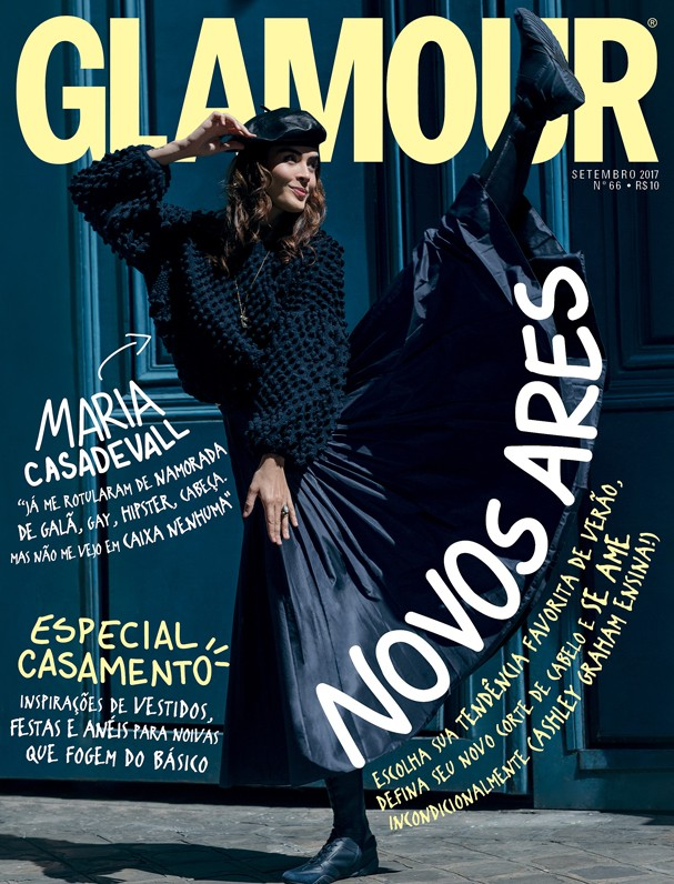 Maria Casadevall na Glamour de setembro (Foto: Gleeson Paulino)