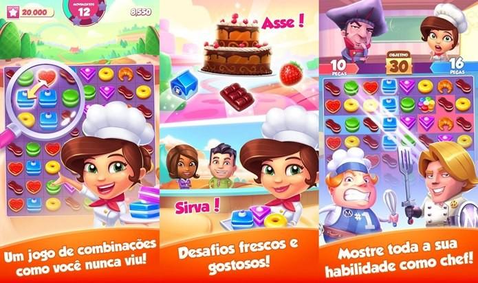 Game simples e cativante sobre puzzles e deliciosos doces (Foto: Divulgação)