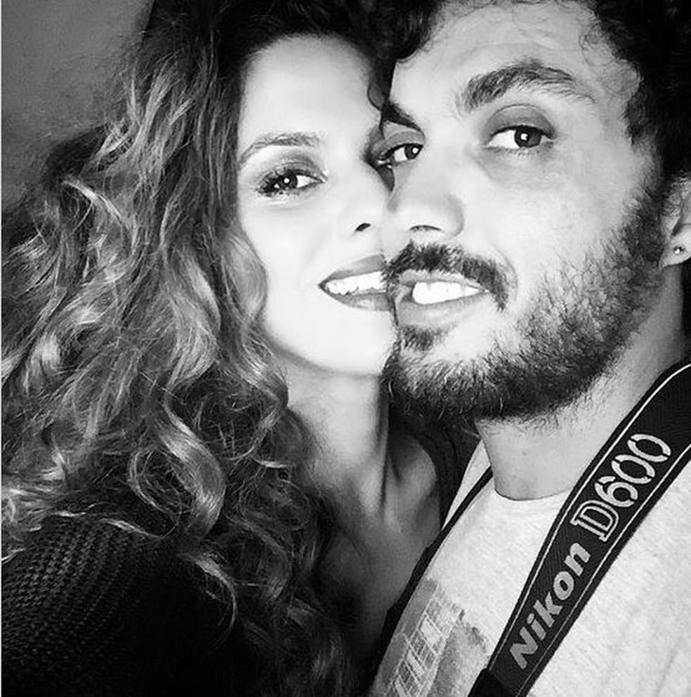 Luana e o marido Bruno Haddad — Foto: Redes sociais