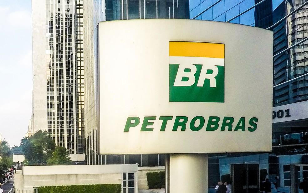 Fachada da sede do Petrobras em São Paulo — Foto: Marcelo D. Sants/Framephoto/Estadão Conteúdo