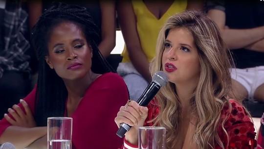 Mariana Santos manda recado para o ex durante o 'Amor & Sexo'