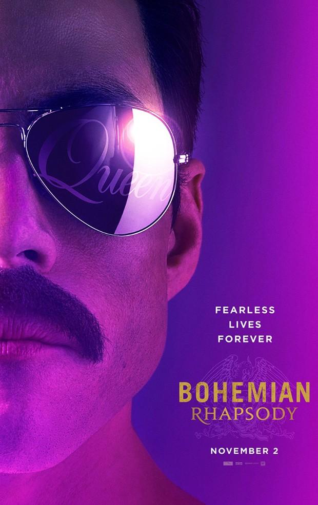 Pôster de Bohemian Rhapsody (Foto: Divulgação)