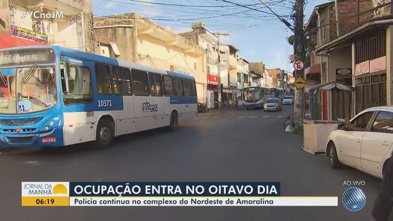 Operação contra o tráfico de drogas segue pelo oitavo dia no Nordeste de Amaralina