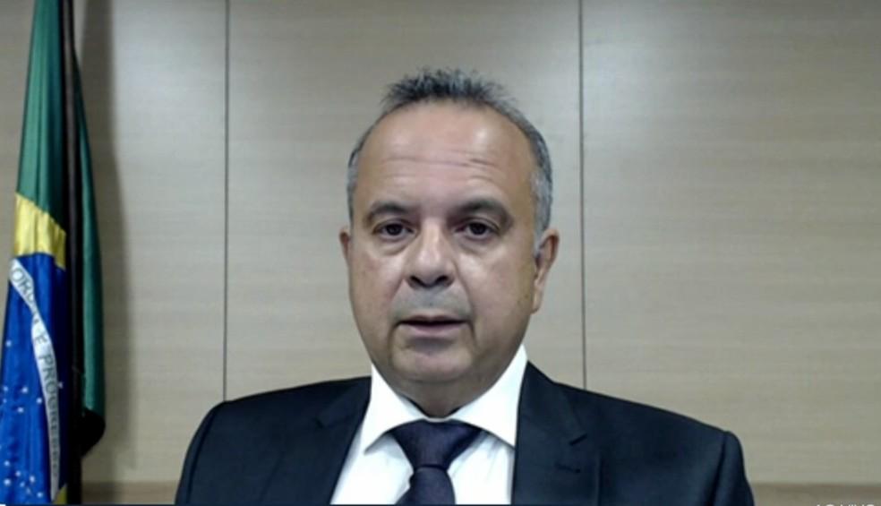 Ministro do Desenvolvimento Econômico, Rogério Marinho — Foto: Reprodução/Inter TV Cabugi