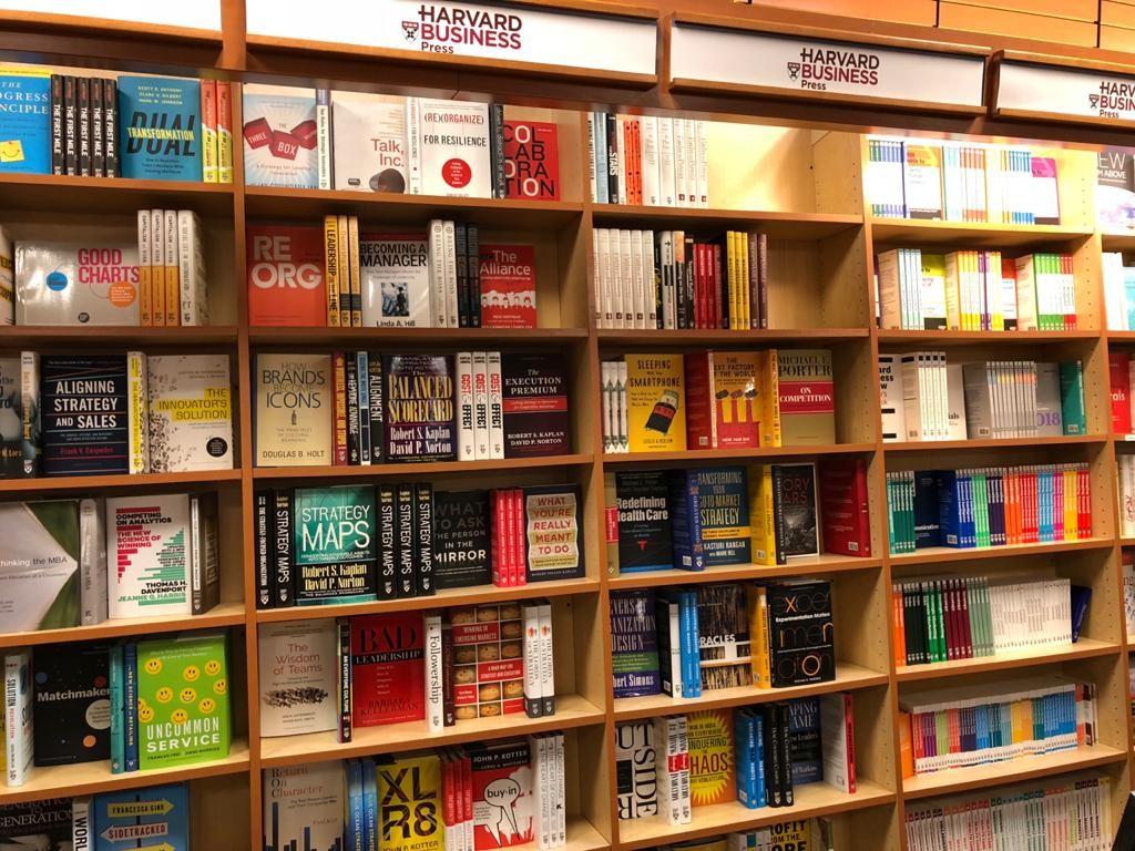 Livraria da Harvard Business School (Foto: Arquivo pessoal)