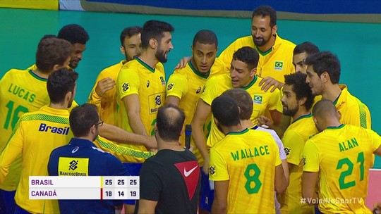Lucarelli volta, estreante se destaca, e Brasil amassa o Canadá no teste final para Liga das Nações