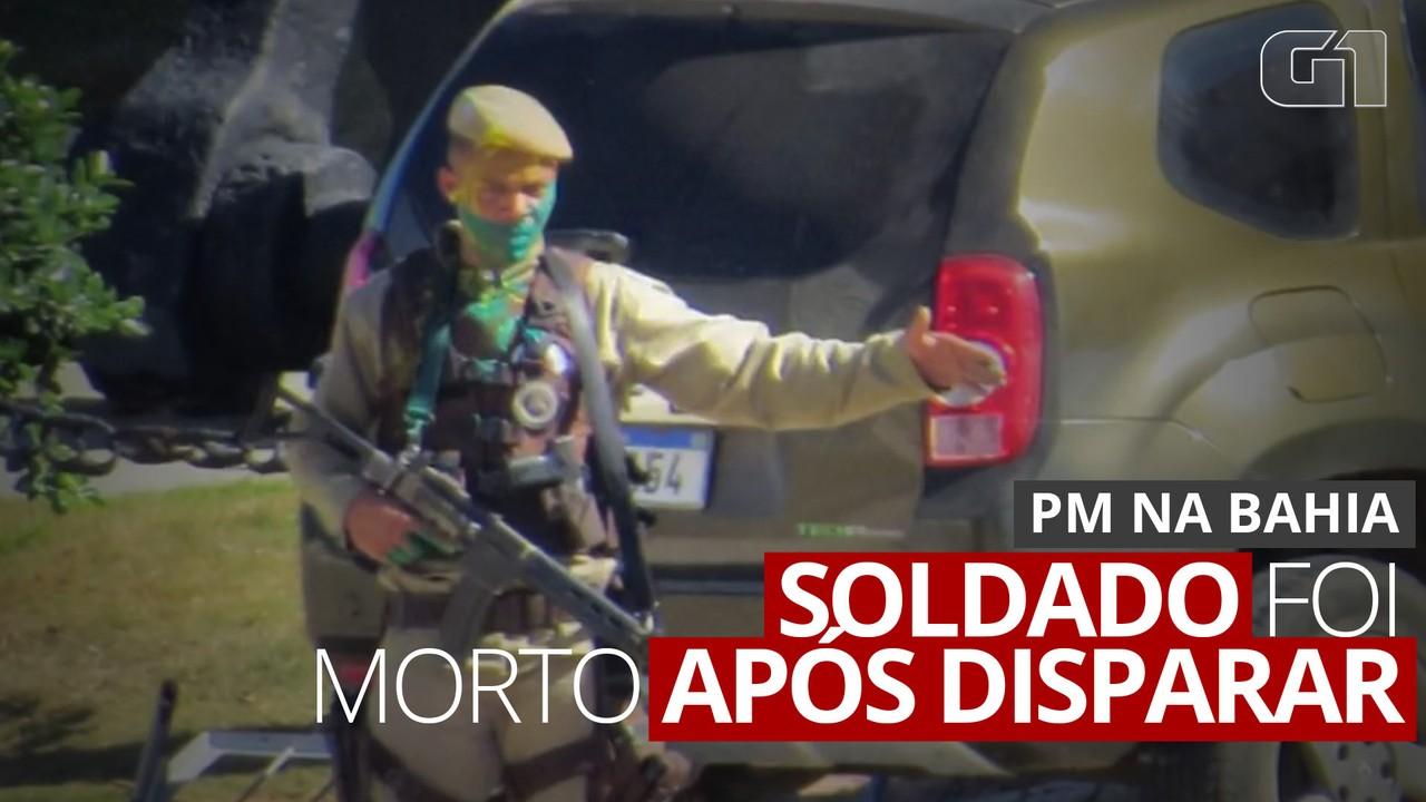 Tiros contra policiais e objetos arremessados: o que levou a PM a atirar contra soldado